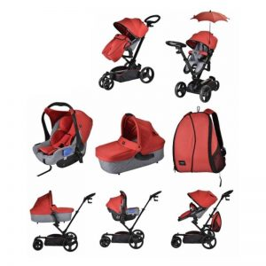 chelino marco Stroller and Carrier Set